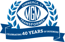 40th logo support mgm transformer company mgm transformer wiring diagram at aneh.co